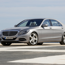 The E-Class is also selling quite well