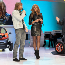 Cathy and David Guetta Become Renault Twizy Ambassadors
