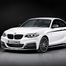 There is also a racing version of the M235i