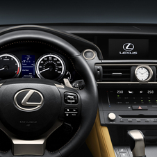 The infotainment system is controlled by Lexus' touch controller on the pad between the seats