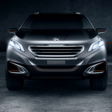 The Urban Crossover has a smiling front grill with angled headlights with LEDs