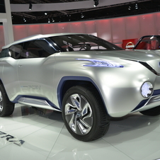 *Updated* Nissan TeRRA SUV is an Off-Road Fuel Cell SUV