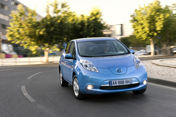 Nissan Making Big Push for Electric Vehicles in Europe