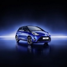 Design of the Toyota Yaris has been revised on the front, rear and interior