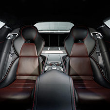 The Rapide S still seats four, and rear passengers will be able to get an optional two-screen entertainment system