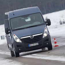Opel Movano Chassis Cab Dupla L3H1 3.5T RWD HD (DRW)