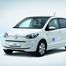 The e-Up is meant as VW's entry into the electric car market