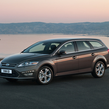 Ford Mondeo SW 2.0 TDCi S Powershift