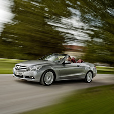 Mercedes-Benz E 350 CGI BlueEFFICIENCY Cabriolet