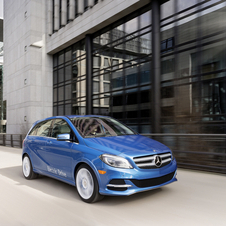 Mercedes is predicting that the B-Class Electric Drive will outsell the i3