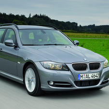 BMW 335i xDrive Touring (E91) LCI