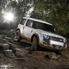 The DC100 previewed the look of the next Defender in 2011
