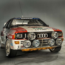 The Quattro won the WRC Championship in 1983