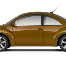 Volkswagen Beetle (modern) 2.5L Red Rock Edition PZEV