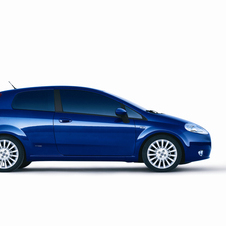 Fiat Grande Punto 1.2 Red Bull Blue Elements