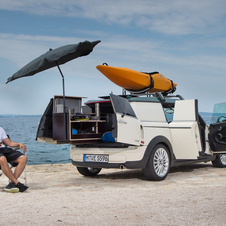 The Clubvan camper keeps one person inside