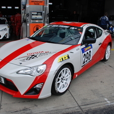 Two other GT-86s are entered by Toyota Swiss Racing for a total of 4