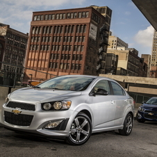 Chevrolet Sonic 1.4 RS Automatic