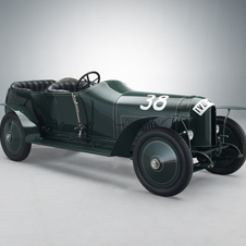The 1910 Prinz Heinrich car was specially built for the race even though racecars were built