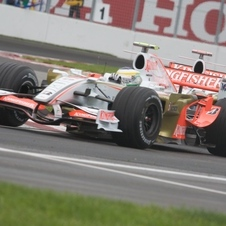 Force India VJM01 Ferrari