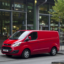 Ford Transit Custom Van 330L Base 2.2TDCi Longa - Teto normal