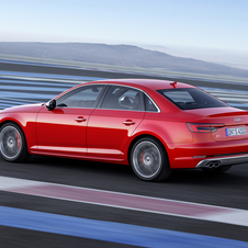 Although more powerful, Audi engineers were able to make the engine more efficient than its predecessor