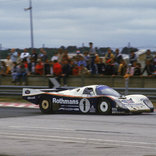 Stuck won back-to-back 24 Hours of Le Mans races in 1986 and 1987