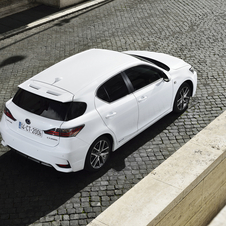 Thanks to Lexus' Hybrid Drive technology it is capable of achieving emissions of just 82 g/km of CO2
