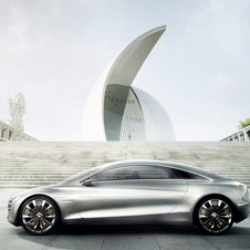 Mercedes Considering Production of F125 Concept as Next S-Class