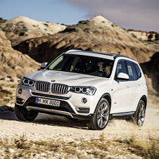 The new X3 design is similar to the X5