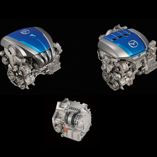 Mazda builds petrol and diesel versions of the Skyactiv engines