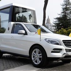 Mercedes has made the Popemobile out of the M-Class since 2002