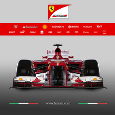 Ferrari says that the top and side intakes have also been reworked