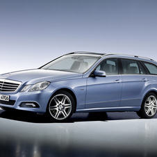 Mercedes-Benz E 200 CGI Station BlueEfficiency
