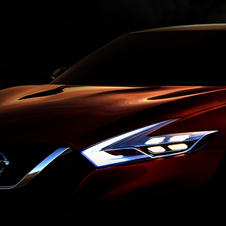 Nissan says that the Sport Sedan Concept previews a future sedan
