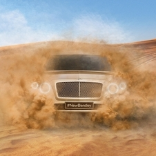 Bentley tease son SUV