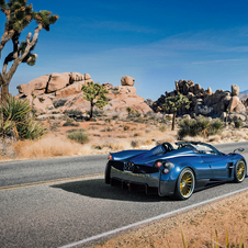 Pagani Huayra Roadster's Mercedes-AMG M158 twin-turbocharged 6.0-litre V12 engine comes with 764hp and 1000Nm of torque