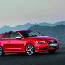 The S3 gets a brand new 2.0 TFSI engine