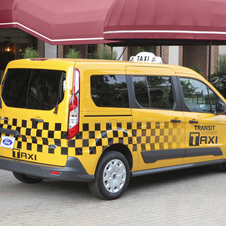 Ford says that its taxi has a more comfortable suspension than the NV200