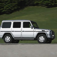 Mercedes-Benz G550 4WD