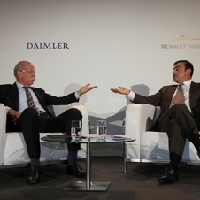 Daimler and Renault are partnering on new engines