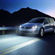Volkswagen has not yet released any images of the new Golf