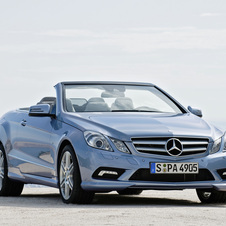 Mercedes-Benz E500 Cabriolet CGI BlueEfficiency Sport