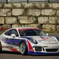 The car is based on the 911 GT3 Cup