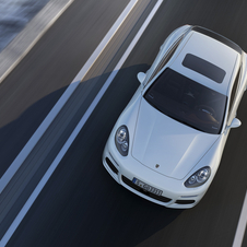 The Panamera S E-Hybrid is meant to show the brand's clean and powerful future