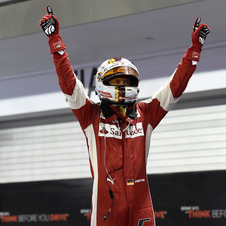 The German driver remains third in the drivers championship