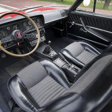 The interior was more luxurious than other models