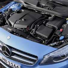 The new A-Class as nearly entirely new engines