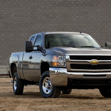 Chevrolet Silverado 2500HD Extended Cab 2WD Work Truck Long Box