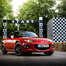 Mazda MX-5 is the best-selling two-seat roadster of all time